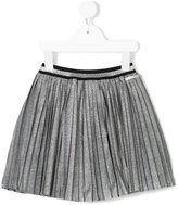 Frankie Morello Kids metallic pleated skirt