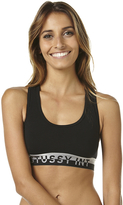 Stussy Metallic Womens X Back Crop Grey