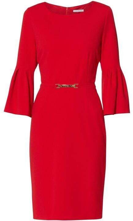 Thumbnail for your product : Gina Bacconi Inga Stretch Crepe Dress