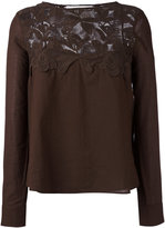 See by Chloe lace bib top