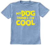 Urban Smalls Heather Blue 'My Dog Thinks I'm Cool' Tee - Toddler & Boys
