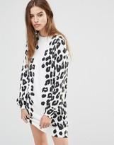 Diesel Leopard Print Dress