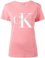 Calvin Klein Jeans logo T-shirt - women - Cotton - S