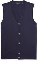Dunhill Knitted Wool Vest