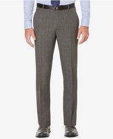 Perry Ellis Men's Slim-Fit Windowpane Plaid Dress Pants