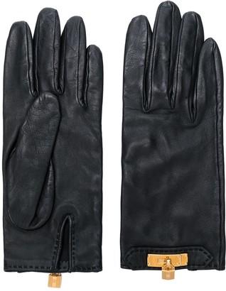 Hermes Pre-Owned Padlock Gloves