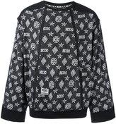 Kokon To Zai monogram sweatshirt - unisex - Cotton - S