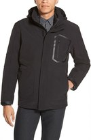 Vince Camuto Men's 3-In-1 Softshell Jacket With Removable Hood And Liner