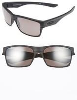 Oakley Men's Twoface 61Mm Polarized Sunglasses - Black