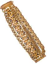 Bottega Veneta Sterling Multistrand Chain Bracelet