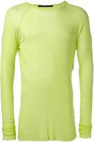 Haider Ackermann fitted top - men - Cotton/Nylon/Viscose - M