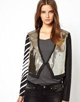 Sass & Bide Short Notice Silk Jacket