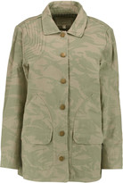 Current/Elliott The Foxhunt camouflage-print cotton-canvas jacket