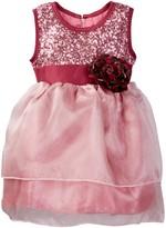 Dorissa Heather Organza Dress with Sequin Top (Baby Girls)