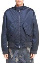 Acne Studios Men's Mito Shiny Bomber Jacket