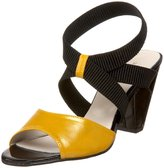 ALL BLACK Women's Ankle Band Sandal