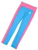 Nike Big Girls' (7-16) Seasonal Sport Casual Leggings-Blue/Pink-Large