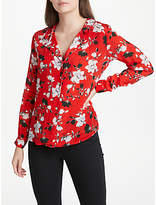 Lily & Lionel Magnolia Girlfriend Shirt, Red