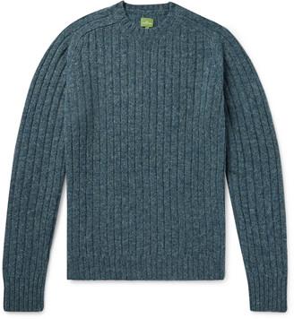 Melange Home Ribbed Wool Sweater