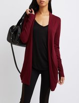 Charlotte Russe Slouchy Pocket Cardigan