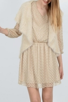 Molly Bracken Knitted Sleeveless Cardigan