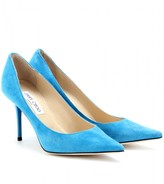 AGNES SUEDE PUMPS