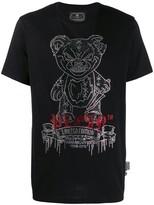 Philipp Plein Platinum Teddy Bear T-shirt