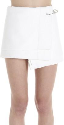 Prada Safety Pin Wrap Skirt