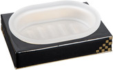 Mike and Ally Mike + Ally - Matrix Soap Dish - Black & Gold