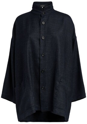 eskandar Stand-Collar Jacket