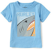 Hurley Baby Boys 12-24 Months Shark Split Short-Sleeve Graphic Tee