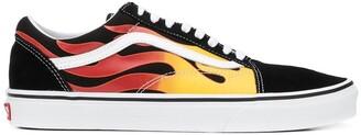 Vans flame Old Skool sneakers
