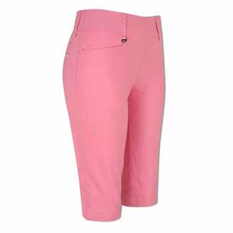Callaway Ladies Pull-On City Shorts in Fuchsia Pink-X Small
