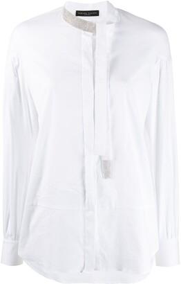 Fabiana Filippi Scarf Neck Shirt