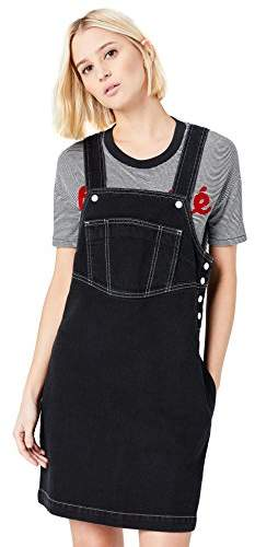 78c2caf9a Denim Black Pinafore Dress - ShopStyle UK
