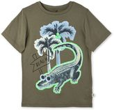 Stella McCartney crocodile print arrow t-shirt
