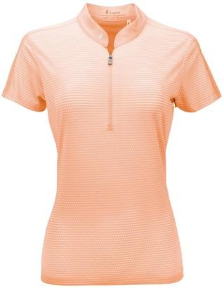 Women's Nancy Lopez Flex 1/2-Zip Golf Polo