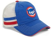 American Needle Men's 'Foundry - Chicago Cubs' Mesh Back Baseball Cap - Blue