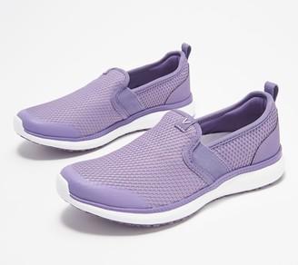 Vionic Mesh Double Gore Slip-On Shoes - Julianna