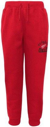 Outerstuff Youth Red Detroit Red Wings Pro Game Fleece Sweatpants