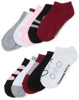 Steve Madden Girls 7-16) 10-Pack Heart Low Cut Socks