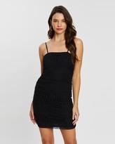 MinkPink Viture Ruched Dress