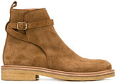 Ami Alexandre Mattiussi Strap Boots - men - Leather/rubber - 39