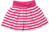 Zutano Fuchsia & White Stripe Circle Skirt - Toddler