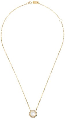 Ippolita 18kt yellow gold and turquoise ceramic Lollipop Carnevale crystal and diamond pendant necklace