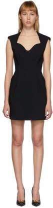 Versace Black Sleeveless Heritage Dress