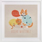 Minted The Cat's Pajamas Nursery Custom Art Print