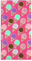 Ice Cream Beach Towel in Pink