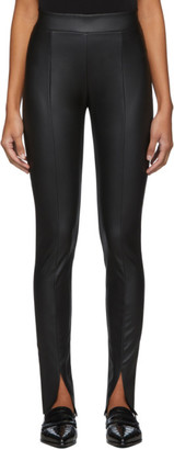 Wolford Black Estella Slit Leggings