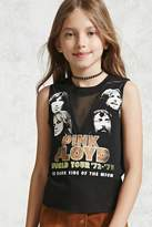 Forever 21 FOREVER 21+ Girls Pink Floyd Tee (Kids)